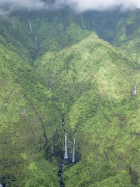 The Wettest Place on Earth, Mt. Waialeale, Kauai, Hawaii, USA by Anthony Waltham