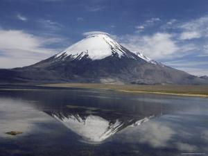Volcano of Parinacola, Parque Nacional De Lauca, Chile by Anthony Waltham