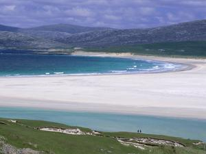 White Shell-Sand, Scarasta Beach, North West Coast of South Harris, Outer Hebrides, Scotland, UK by Anthony Waltham