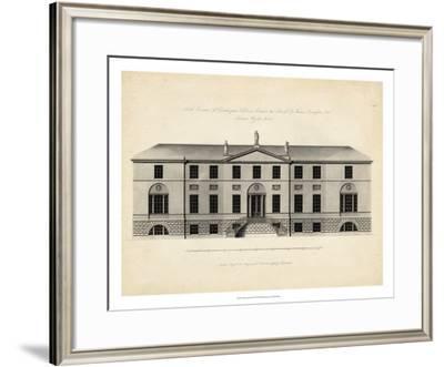 Antique Façade II--Framed Giclee Print