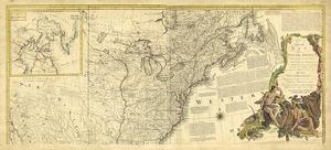 Antique Map of America IV