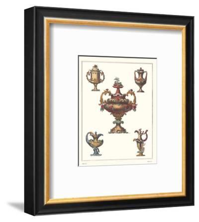 Antique Urns--Framed Art Print