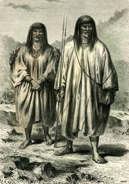 Antis Indians, 1869, Peru