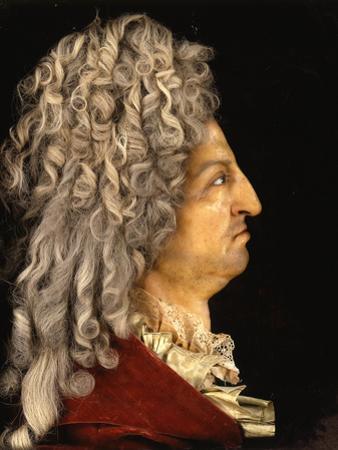 Louis XIV, King of France (1638-171), Ca 1705 by Antoine Benoist