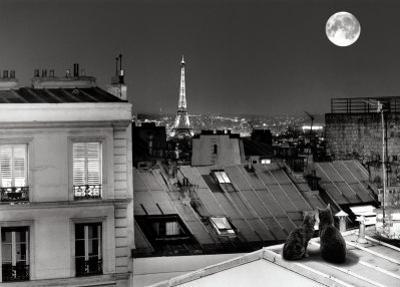 La Tour Eiffel de la rue St Eleuthere by Antoine Carrara