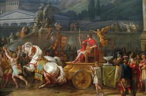 The Triumph of Aemilius Paulus, by Antoine Charles Horace Vernet