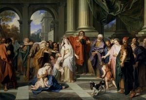 Susanna Accused of Adultery, 1695-1696 by Antoine Coypel