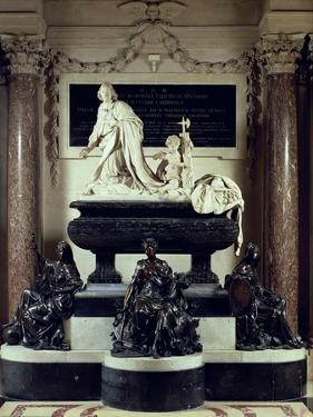 The Tomb of Cardinal Jules Mazarin in the Chapel of the Institut De France by Antoine Coysevox