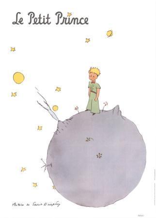 Le Petit Prince et son Asteroide by Antoine de Saint Exupery