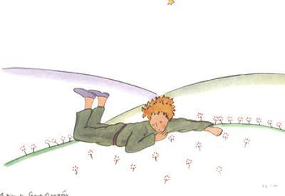 Le Petit Prince reveur by Antoine de Saint Exupery