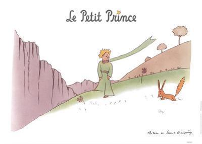 Petit Prince et son Renard by Antoine de Saint Exupery