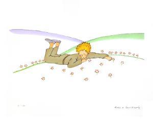 The Little Prince Dreaming (Le Reve) by Antoine de Saint-Exupéry