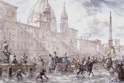 Festival in Piazza Navona in Rome