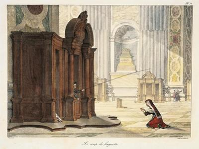 Wand in St Peter's Basilica, 1823
