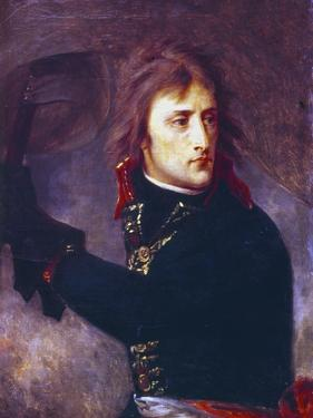 Bonaparte at the Bridge of Arcole, 1796 by Antoine-Jean Gros