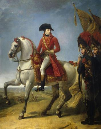 Equestrian Portrait, the First Consul Awarding a Sabre of Honor, after Battle of Marengo, June 1800