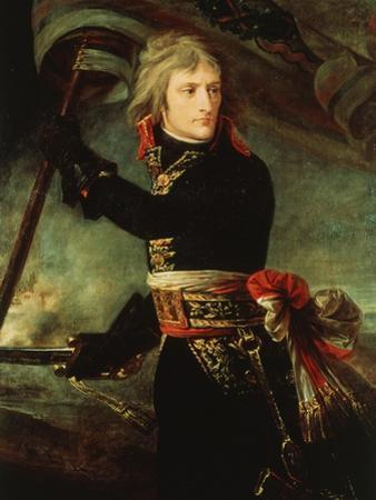 Napoleon Bonaparte 1769-1821 at the Pont d'Arcole