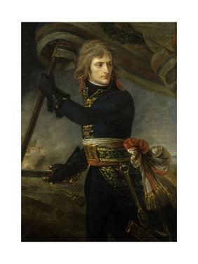 Napoleon Bonaparte on the Bridge of Arcole, Nov. 17, 1796 by Antoine Jean Gros