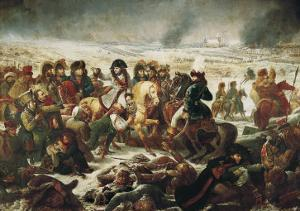 Napoleon on the Battle Field of Eylau, 9th February 1807 by Antoine-Jean Gros