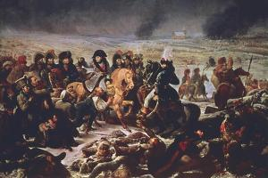 Napoleon on the Field of the Battle of Eylau, 9th February 1807 by Antoine-Jean Gros