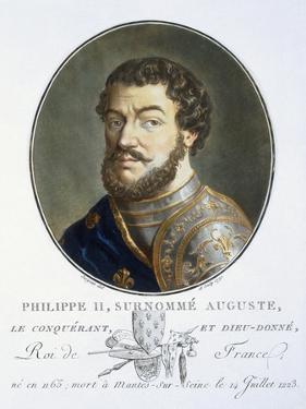 Philippe II Auguste by Antoine Louis Francois Sergent-marceau