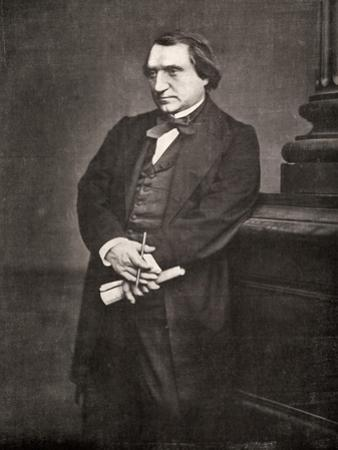 Ernest Renan, French Philosopher and Writer, 19th Century