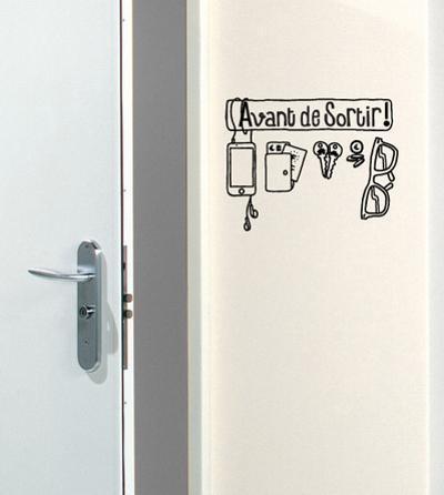 Avant De Sortir Reminder sticker by Antoine Tesquier Tedeschi