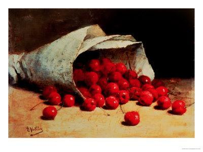 A Spilled Bag of Cherries