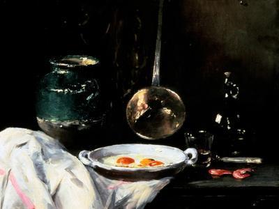 Still Life with Eggs, 20th Century