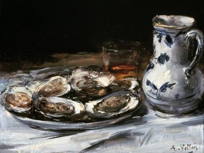 Still Life with Oysters, 19th Century