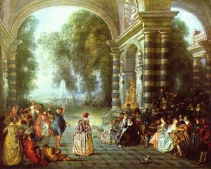 Antoine Watteau (Les Plaisirs du bal)