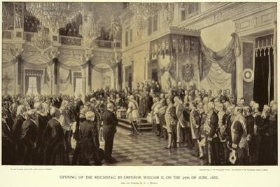 Opening of the Reichstag