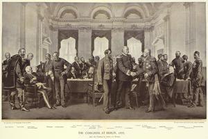 The Congress at Berlin by Anton Alexander von Werner