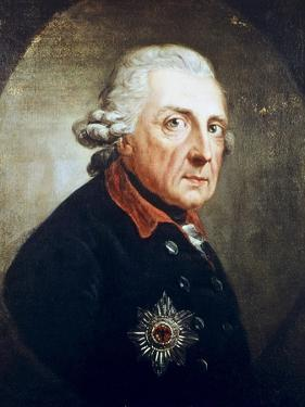 Frederick the Great by Anton Graff