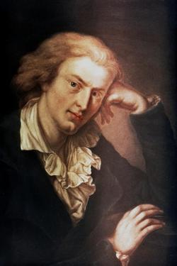 Johann Christoph Friedrich Von Schiller, German Poet, Dramatist and Historian, C1785 by Anton Graff