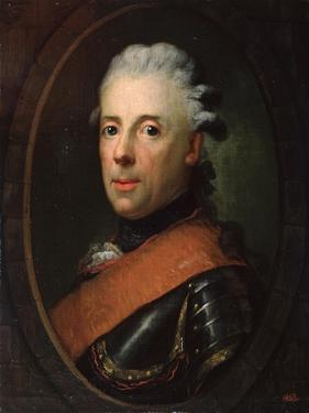 Portrait of Prince Henry of Prussia, 18th Century by Anton Graff