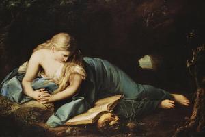 Saint Mary Magdalen by Anton Graff