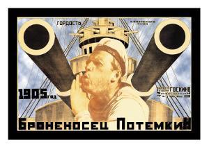 Battleship Potemkin 1905 by Anton Lavinsky