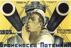 Poster for the Film the Battleship Potemkin, 1926 by Anton Lavinsky