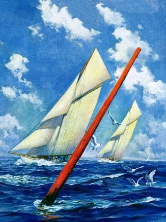 """Sailboat Race,""July 1, 1928"