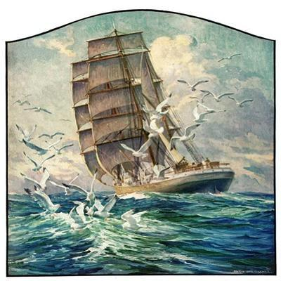"""""""Storm at Sea,""""October 31, 1931"""