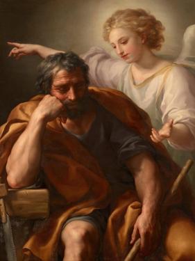 The Dream of St. Joseph, 1774 by Anton Raphael Mengs