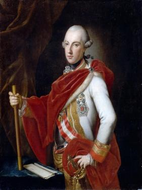Portrait of Emperor Joseph II (1741-179) by Anton von Maron