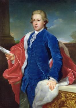 William Cavendish, 5th Duke of Devonshire by Anton von Maron