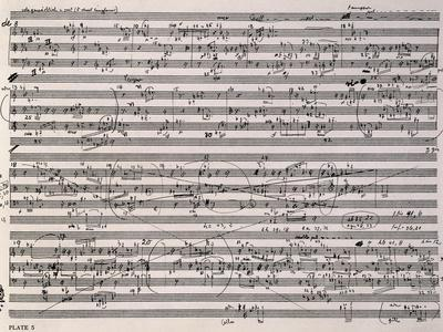 Music Score of Sketches