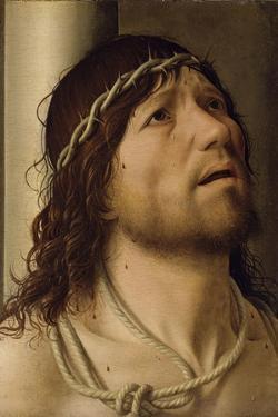 Christ at the Column by Antonello da Messina