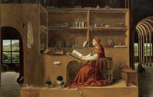 St. Jerome in His Study, c.1475 by Antonello da Messina