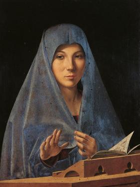 The Virgin Annunciate by Antonello da Messina