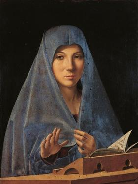 Virgin Annunciate by Antonello da Messina