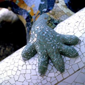 Park Guell, Barcelona: El Drac by Antoni Gaud?